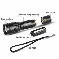 Torch LED Zoomable Tactical Flashlight CREE XML2 T6 Super Bright
