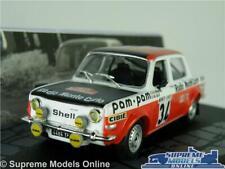 SIMCA 1000 RALLYE 2 RALLY CAR MODEL 1:43 SIZE 1973 IXO FLORENTINO GELIN CARLO T3