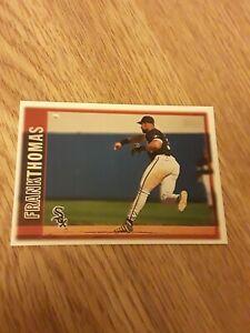 1997 Topps FRANK THOMAS Chicago White Sox #108 SET BREAK NM-MT HOF