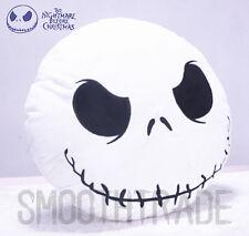 The Nightmare Before Christmas Jack Skellington Face Stuffed Plush Pillow X'mas