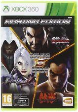 Tekken 6 + Soul Calibur 5 + Tekken Tag Tournament 2 XBOX 360 ESPAÑOL NUEVO CASTE
