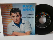 "paul anka""puppy love"".ep7"".or.fr..abc paramount:45.90.868.biem de 1960."