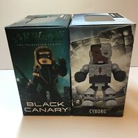 New Set Of 2 Cyborg Justice League Black Canary CW Figures In Box Green Arrow