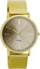 Vergoldete Unisex Armbanduhren im Vintage-Stil