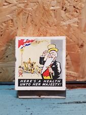 1953 coronation Youngers brewers matches *unused*
