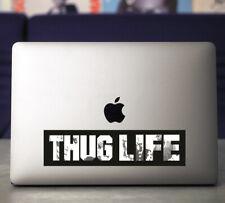 Thug Life UV Coated Vinyl Sticker~Tupac~West Coast Rap~90's Rap~Gangsta Rap
