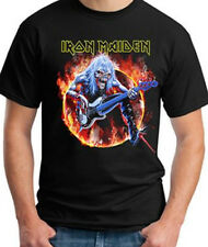 Iron Maiden-Fear of Flames-Large Black T-shirt