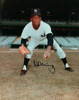 Al Downing Signed 8X10 Photo Autograph New York Yankees Black Ink Auto w/COA