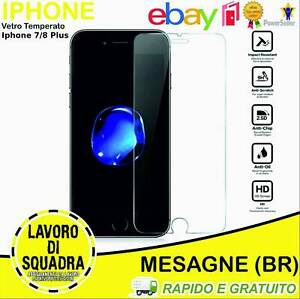 Tempered Glass IPHONE 7 8 Plus Screen Protector Protection 2.5D 0,3MM 9H Glass