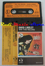 MC DAVID LINDLEY Win this record 1982 1 stampa italy ASYLUM 452421 cd lp dvd vhs