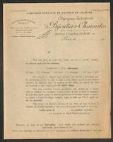 """PARIS (III°) FABRIQUE de CHAINES en OR & PLATINE """"Cie BIJOUTIERS-CHAINISTES"""""""