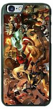 Marvel Comics Superhero Collage Phone Cover Case Fits iPhone Samsung iPod LG HTC