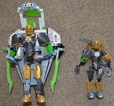 Lego Hero Factory 44014 & 44002 Set JET ROCKA robot figurine Bionicle USED