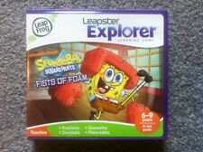 Spongebob Squarepants Fists of Foam Leap Frog Leapster Explorer