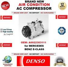 DENSO NEUF CLIMATISATION COMPRESSEUR AC OEM : a0022303111 pour Mercedes Benz