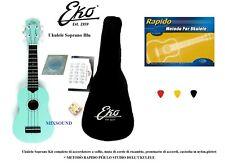 0089350 1035586 Eko Uku primo - Ukulele Soprano Blu