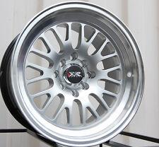 XXR 531 16X9 Rims 4x100/114.3mm +0 Silver Wheels Fits Ae86 Jetta 325 318 Fit Xb