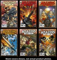 Amazons Attack 1 2 3 4 5 6 DC 2007 Complete Set Run Lot 1-6 VF/NM