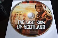 The Last King of Scotland (DVD, 2007, Widescreen)Disc Only Free Shipping