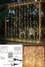 Twinkle Star 300 LED Window Curtain String Light Wedding Party Home In/Outdoor