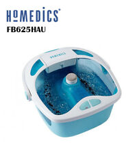 New HoMedics FB625HAU Shower Bliss Foot Spa/Pumice stone/Cleansing brush/Roller