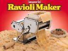 New Imperia pasta machine +ravioli Attachment ( Made in Italy )
