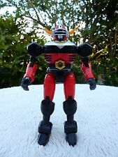 Vintage Rare Diecast Gingaman Bull Black Chogokin Figure Bandai Toy Robot VGC