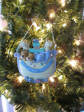 Boy Baby's First Christmas Ornament, Noah's Ark, New Personalize by Buyer