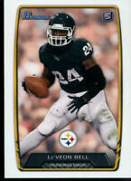 2013 BOWMAN #123 LE'VEON BELL RC ROOKIE CARD PITTSBURGH STEELERS FOOTBALL