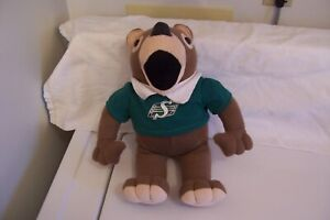 SASKATCHEWN ROUGHRIDERS GAINER # 13 TEDDY BEAR