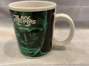 THE BLACK EYED PEAS The End Coffee Mug Cup Live Nation Merchandise