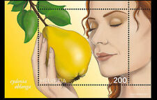 """Switzerland - """"FRUIT ~ QUINCE SCENT"""" Special Scented Mini Sheet MS 2017 !"""
