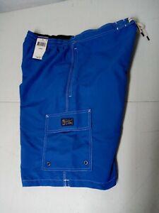 NWTS Polo Ralph Lauren Men's Swim Trunks Board Shorts Light Blue Size Large