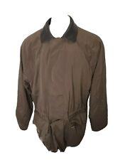 LORO PIANA Horsey Brown TWENTY K Storm System Polyester Mens Jacket Coat Large