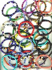 Awareness Crystal Beaded Costume Bracelets
