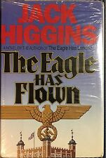 THE EAGLE HAS FLOWN by Jack Higgins 1991 Hardcover 1st Edition MINT CONDITION