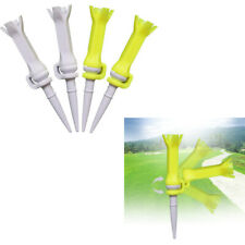 New listing Lot 4 Flexible Golf Tees 76mm/3 inch, Performance Low Resistance Golf Tees -