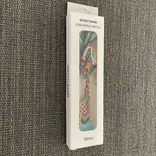 apple watch, 38MM, band, woven, multicolor, NWT