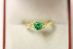 916/22ct size J sparkling attractive indian gold Ring *Boxed*