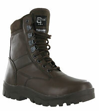 Grafters Leather Combat Top Gun G-Force Mens Police Security Army Military Boots