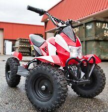 OITEK Kids Ride on car Electric Mini Dirt Quad Bike Off Road 24V 350WRED ATV UTV