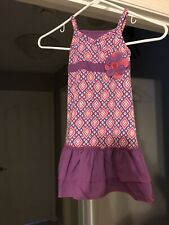 Free Shipping!  Dollie & Me -  Size 5 NWOT Sundress - Purple & Pinks - Adorable!