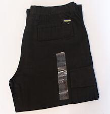 "Mens Black Cargo Combat Work Trousers Size 30"" waist, 34"" leg"
