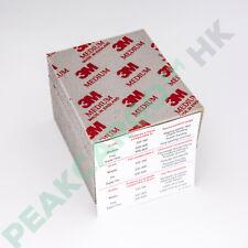 20-PK 3M Softback Sanding Sponge, Medium Grit 120/180, Abrasive Flexible Foam