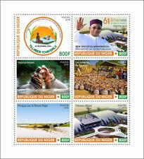 More details for niger cultures stamps 2019 mnh tillaberi tchandalo hippos rivers tourism 6v m/s