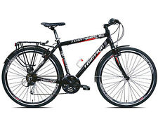 Bici Torpado Trekking Bike IBRIDA T830 SPORTAGE Uomo shimano acera 21V Nera S-48