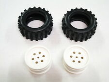 NEW TAMIYA HOTSHOT Tires & Wheels Rear SUPERSHOT/BOOMERANG TO25