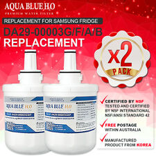 2X PREMIUM REPLACEMENT FILTER FOR SAMSUNG SRS735DHSS WATER FILTER AQUA-PURE PLUS