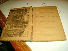 THE LIFE AND ADVENTURES OF NICHOLAS NICKLEBY di C. DICKENS - GOODALL LEEDS 1913