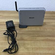 Microsoft MN-500 Broadband Networking Wireless Base Station Wifi LAN Router